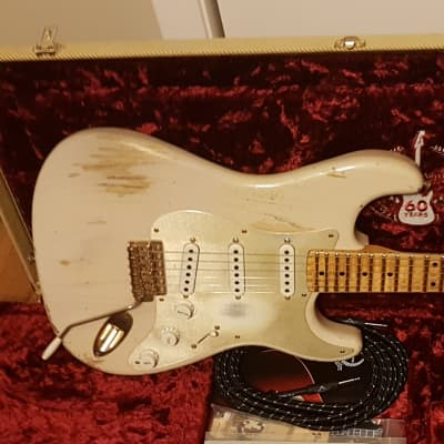 Fender Fender Custom Shop 60th Anniversary 1954 Heavy Relic Stratocaster 2014 Blonde for sale