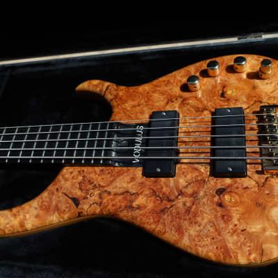 Modulus Graphite Quantum 5 Q5 Burl Maple Bass for sale