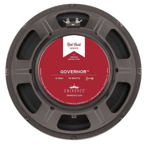 Eminence Governor Red Coat Guitar Speaker (75 Watts, 12 Inch, 8 Ohms)