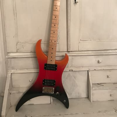 Quest ATAK 5 1984 Sunrise Made in Japan Matsumoku Electric Guitar for sale