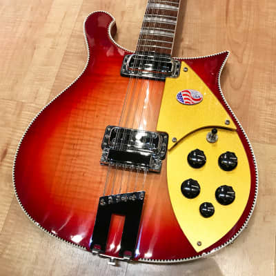 Rickenbacker 660/12 12-String Electric Guitar 2019 FireGlo for sale