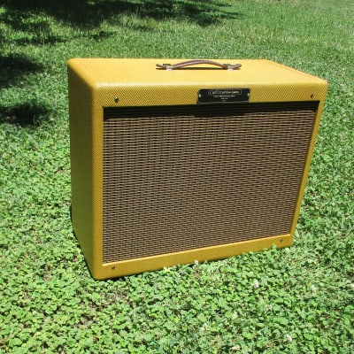 Carl's Custom Amps 2x10  Lacquered Tweed Extension Cabinet  Your Choice of Speakers for sale
