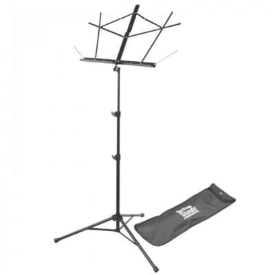 On Stage Stands Compact Sheet Music Stand w/Bag