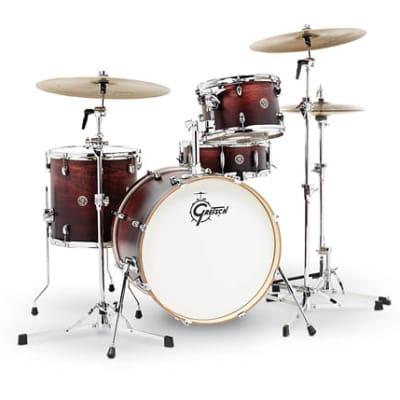 Gretsch Catalina Club 4-Piece Drum Set (20/12/14/14sn)- Satin Antique Fade