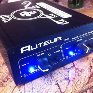 Black Lion Audio Auteur Micro Series 2-Channel Mic Preamp