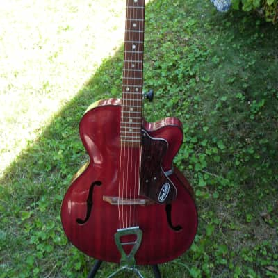 Zero Sette Archtop red for sale