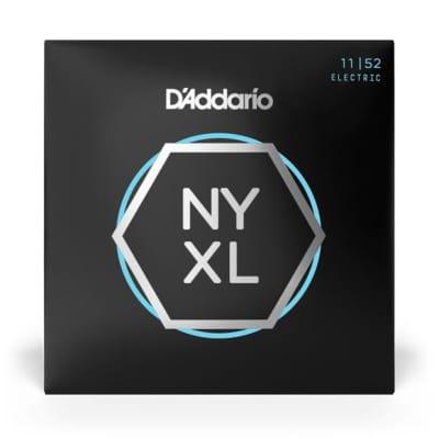 D'Addario Electric Guitar NYXL Medium Top / Heavy Bottom Set, 11-52