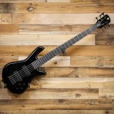 Spector PERF5BLK Performer 5 5-String Electric Bass Guitar Black Gloss for sale