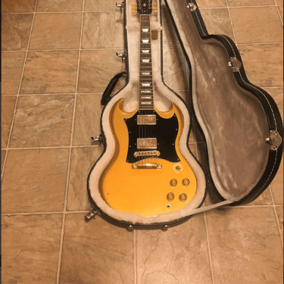Gibson SG Standard  2011 Bullion Gold Sam Ash Limited Edition for sale