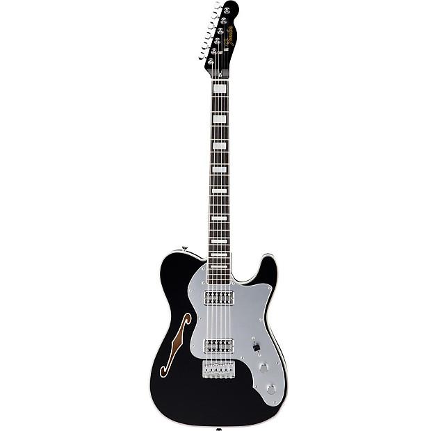 Fender FSR Telecaster Thinline Super Deluxe Black 6-string  7f69214e097