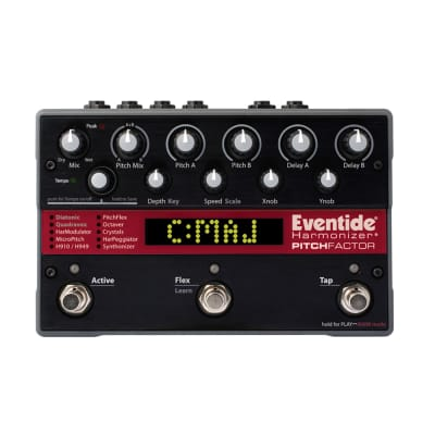 Eventide PitchFactor Pitch + Harmonizer Studio Grade Multi-Effects Guitar Pedal