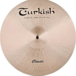 "Turkish Cymbals 20"" Classic Series Classic Ride Flat C-RF20"