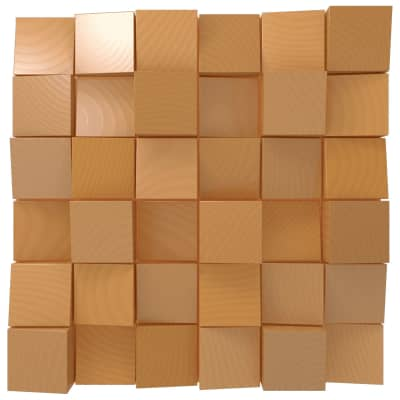 Vicoustic Multifuser Wood 36 MKII | Two-dimensional Diffuser | Box of 1 (Natural Wood)