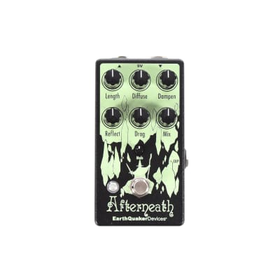 Earthquaker Devices Afterneath V3 Enhanced Otherworldly Reverberation Machine CME Exclusive Lime Green