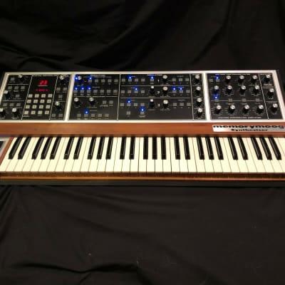 "Moog Memorymoog LAMM - ""The Blue Beast"" w/ custom flight case - outstanding"