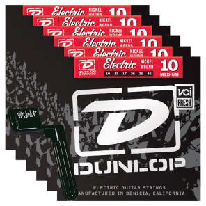 Dunlop DEN1046 Medium Electric String Bundle - 10-46