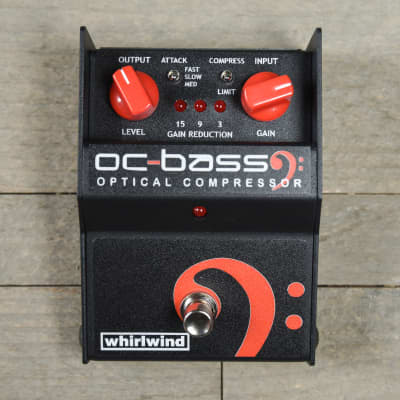 Whirlwind OC Bass Optical Bass Compressor Limiter MINT for sale