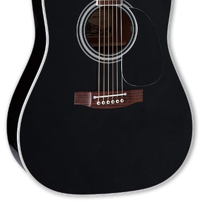 Takamine EF341SC Dreadnought Cutaway Acoustic Electric Guitar - Black for sale