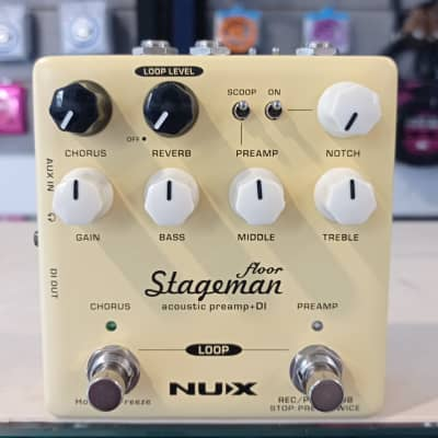 NuX Stageman Floor Acoustic Preamp / DI