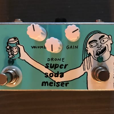 Devi Ever : FX Super Soda Meiser Limited Edition Green with Nick Reinhart Graphic