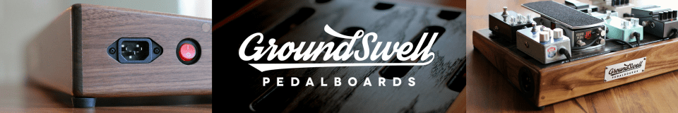 GroundSwell Pedalboards
