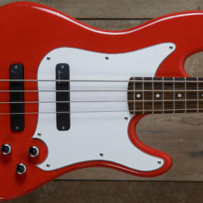 Duvoisin  Standard Bass  Fire Red (Limited Edition) for sale