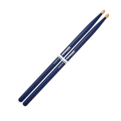 Promark Hickory Painted Sticks Blue 2BW