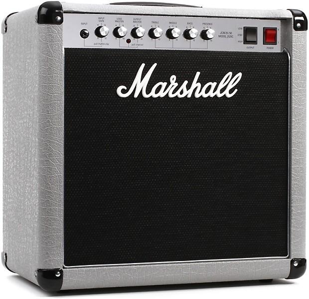marshall 2525c mini silver jubilee 20 5 watt 1x12 tube reverb. Black Bedroom Furniture Sets. Home Design Ideas