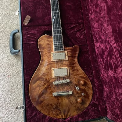New Orleans Guitar Voodoo Custom - 2007 Rare Maple Burl for sale