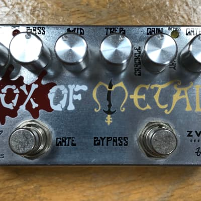 Zvex Box of Metal Vexter High-Gain Distortion Pedal