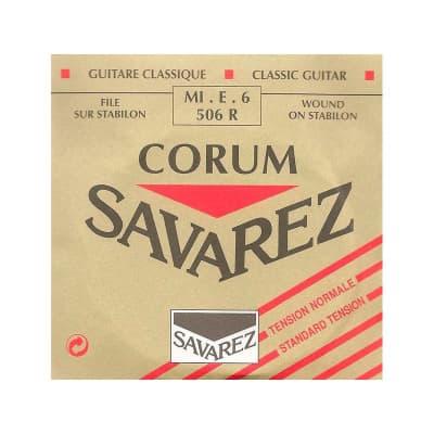 Savarez 506R 6th Classic Guitar String.