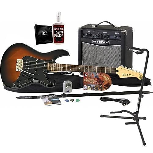 Yamaha Gigmaker Electric Guitar Pack Violin Sunburst Guitar Reverb
