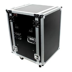 "OSP SC16U-20SL 16-Space 20"" ATA Shock Mount Amp Case w/ Table"