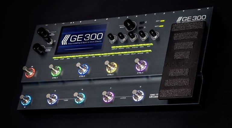 Mooer GE 300 GE300 Multi-Effect Effects Processor for Electric Guitar, Shipping Now!