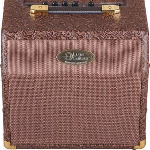 LUNA  Acoustic Ambience 15 Watt GUITAR Amplifier NEW amp -Simulated Leather Tolex for sale
