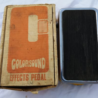 Colorsound SUPA FUZZ WAH SWELL for sale