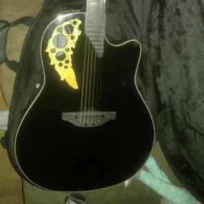 Ovation Elite Model 1778 TX-5GSM Black