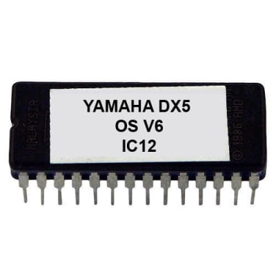 Yamaha DX-5 - Version 6 Firmware OS update Upgrade EPROM for DX5