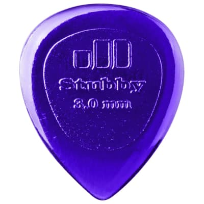 Dunlop Stubby® Jazz Picks (set of 6) - 3.0