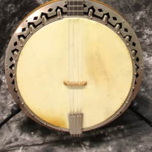 1920's or 1930's Slingerland May Bell Queen Tenor 4 string Banjo w/OHSC for sale