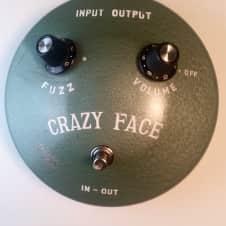 Guyatone Crazy Face Fuzz Face Circa - 1967 Green