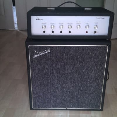 Linear T40/60 amp and 1X12 cabinet for sale
