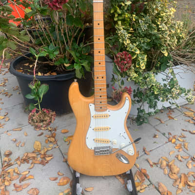 Maya Stratocaster  70's Naturel for sale