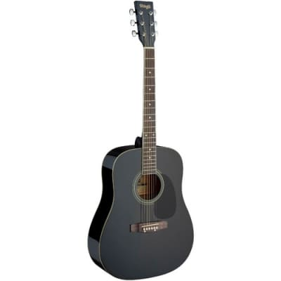 Stagg SA20D-BK acoustic steel-string guitar for sale