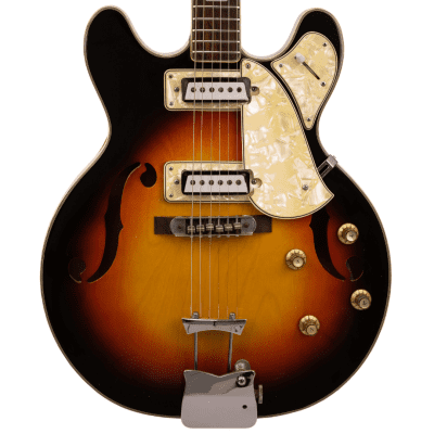 1960s MaxiTone Bruno Semi-Hollow Electric, Vintage Japanese for sale