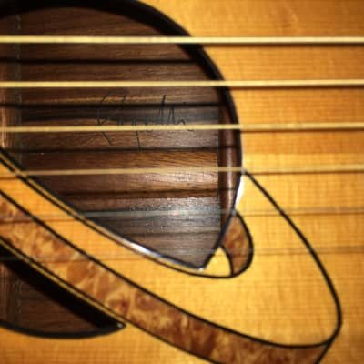 Pagelli Guitars 'Saturn' 1988 Natural for sale