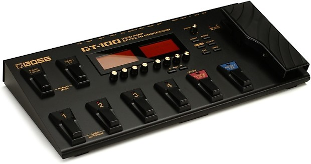 boss gt 100 guitar multi effects pedal gearnuts reverb. Black Bedroom Furniture Sets. Home Design Ideas