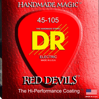 DR Strings RDB45 Red Devil Bass 45-105