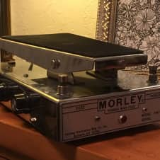 Morley Power Wah Fuzz PWF 70's chrome