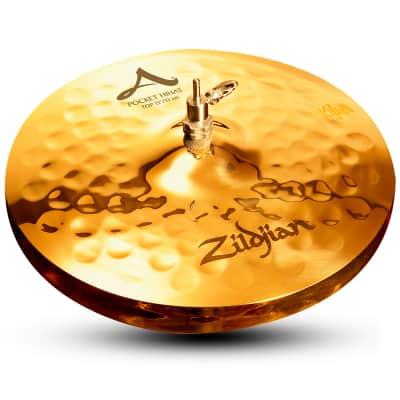 "Zildjian 13"" A Series Pocket Hi-Hat Cymbal (Top)"